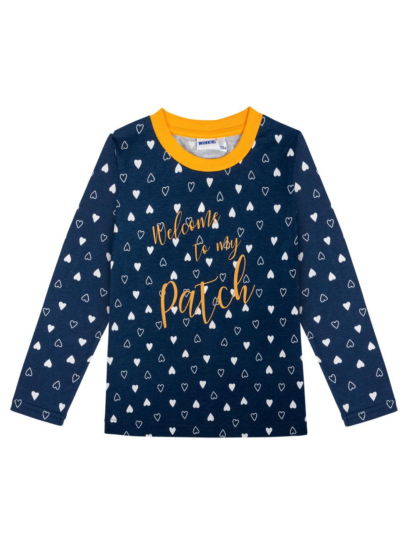 Dívčí pyžamo Starr Sky Navy/Žlutá
