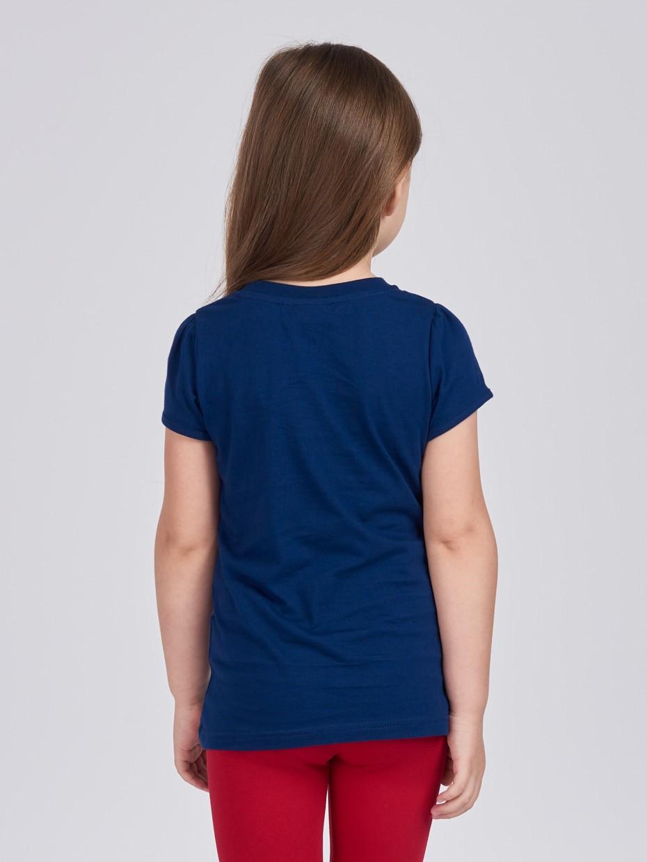 Dívčí tričko London Navy