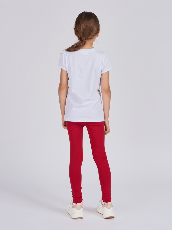 Dívčí tričko London Bílá