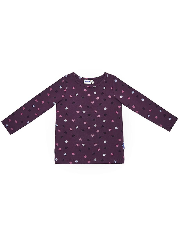 Dívčí tričko Hvězdy Fialová