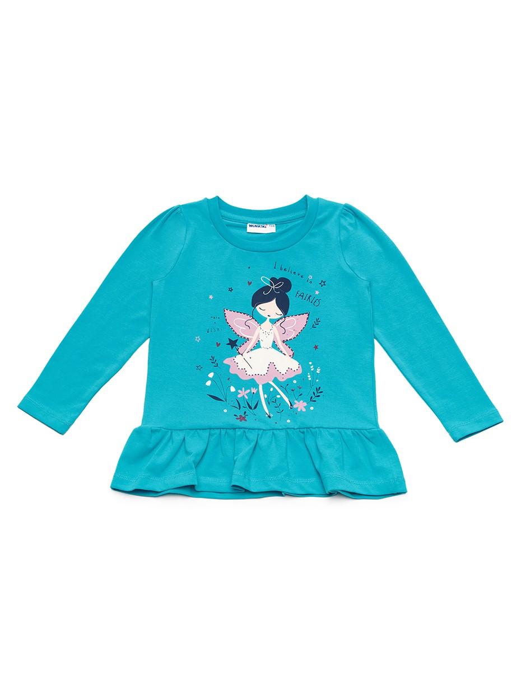 Dívčí tričko Víla Tyrkysová