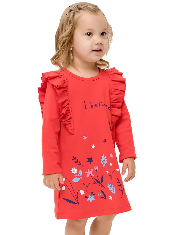 Dívčí šaty Fairies Červená