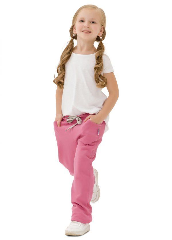 Dívčí tepláky Unicorn Růžová