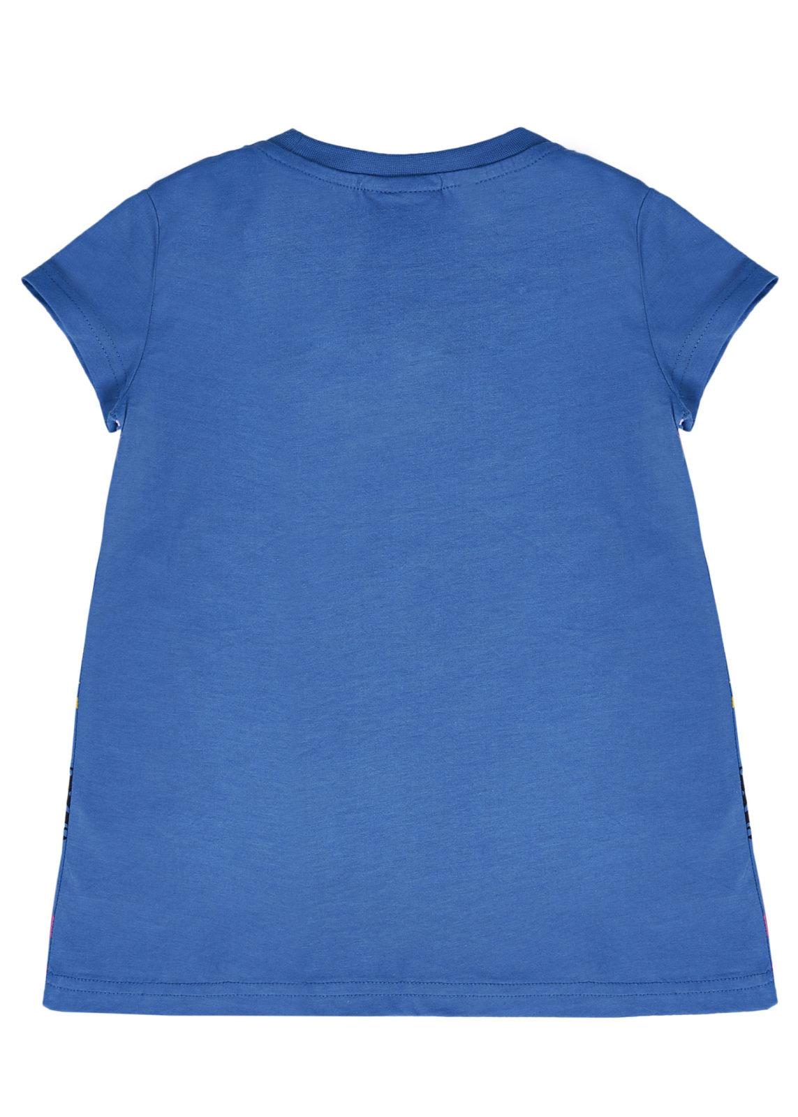 Dívčí tričko Meow Love Modrá