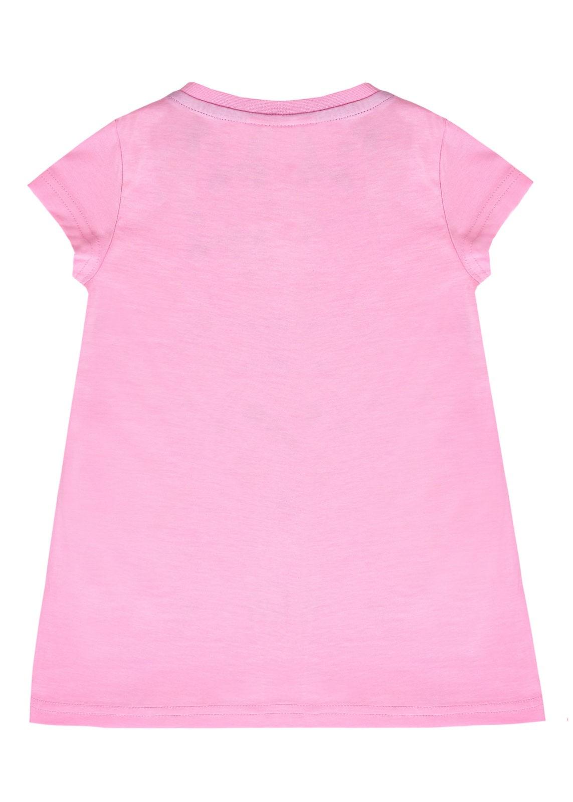 Dívčí tričko Meow Love Růžová