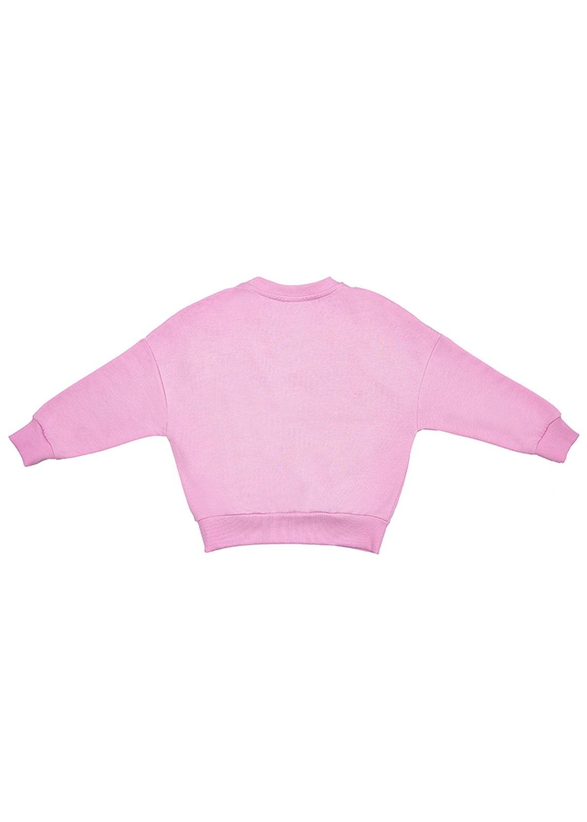 Dívčí mikina Frill Růžová