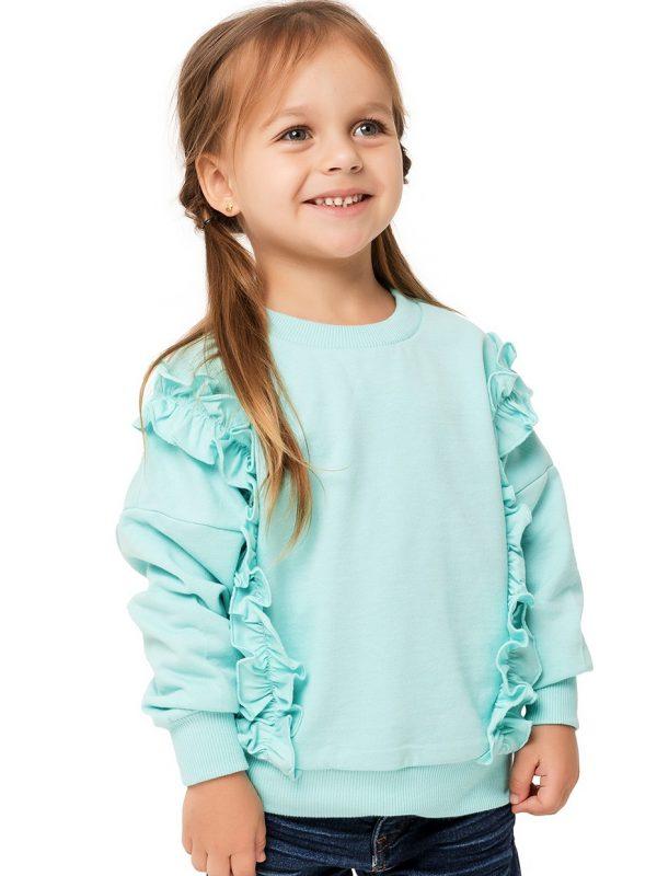 Dívčí mikina Frill Mátová