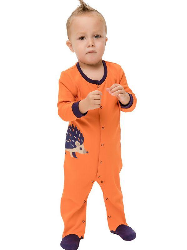 Chlapecké dupačky Ježek Oranžová