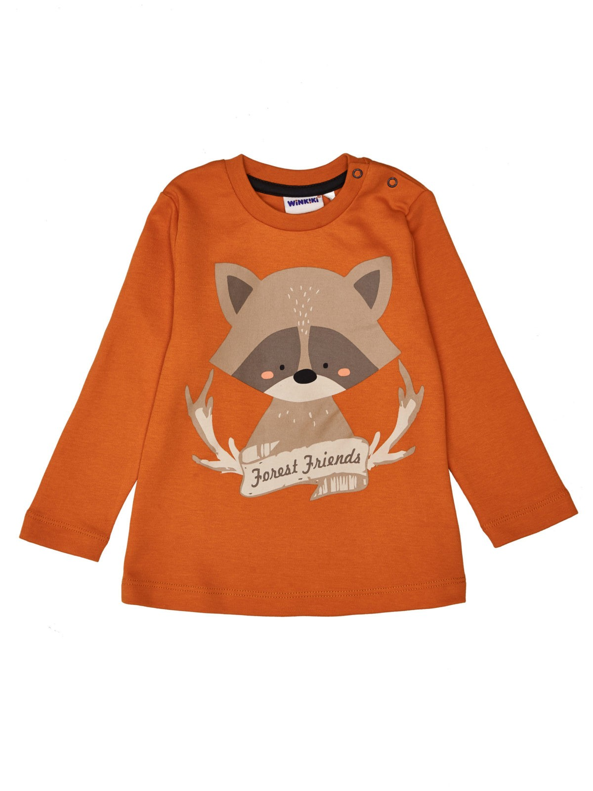 Chlapecké tričko Mýval Oranžová