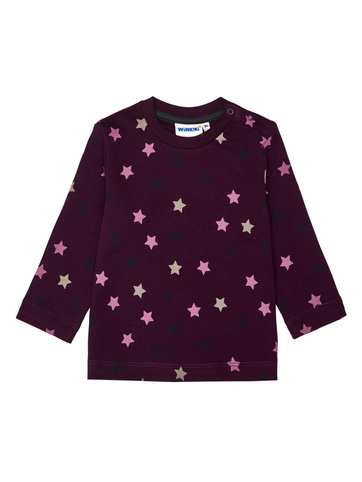 Dívčí tričko Hvězdička Fialová