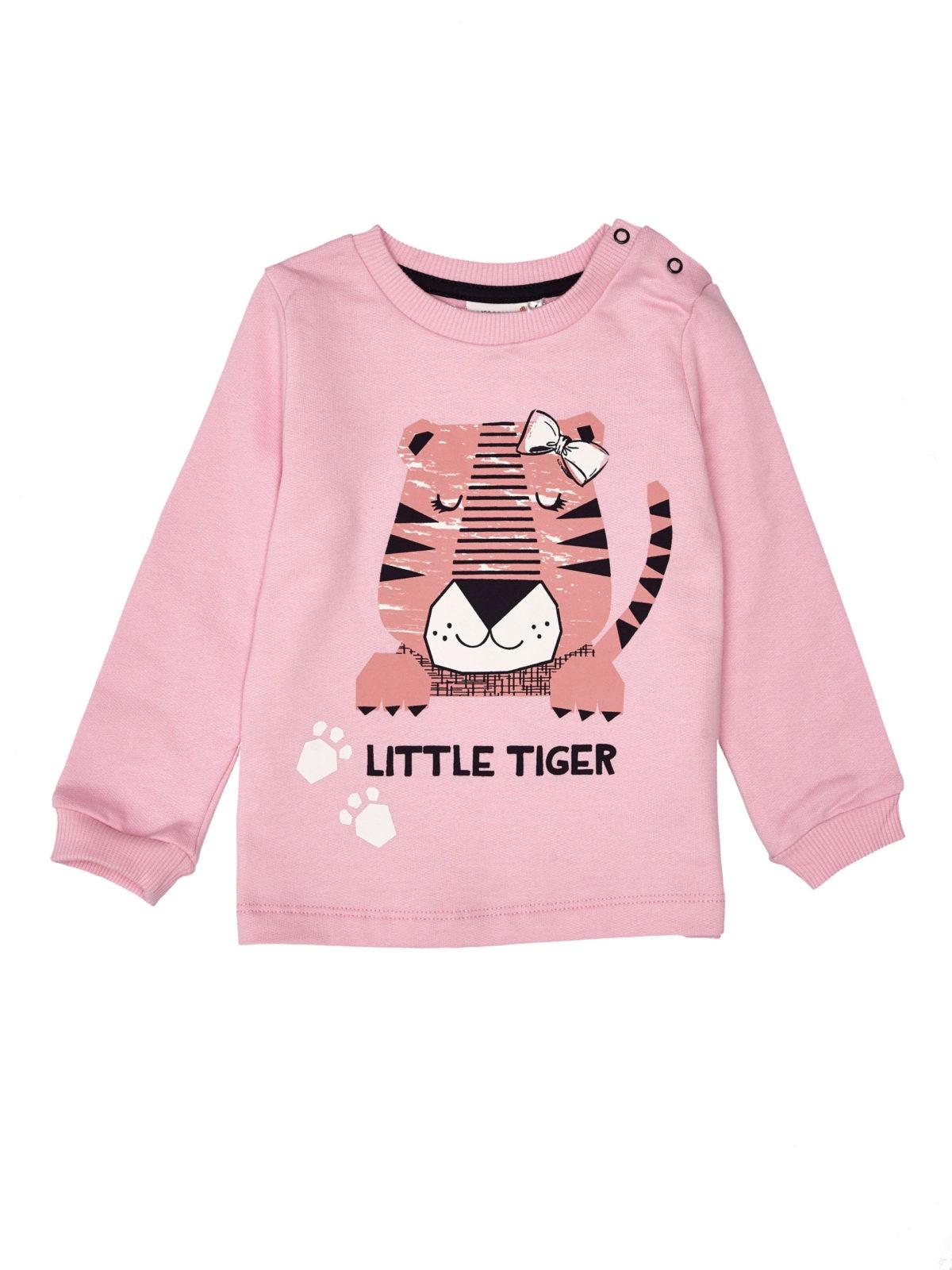Dívčí mikina Little Tiger Růžová