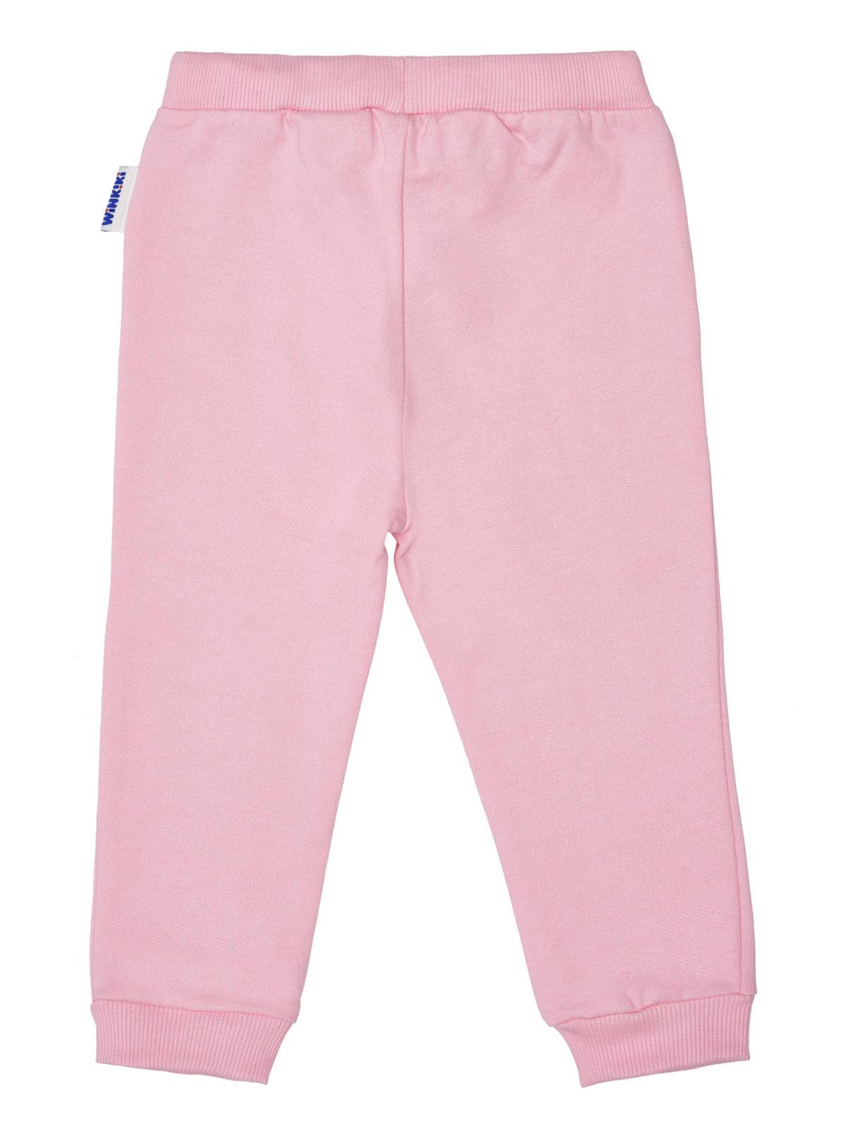 Dívčí tepláčky Animal Růžová