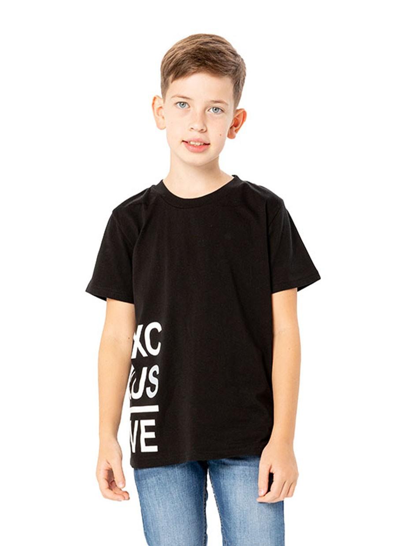 Chlapecké tričko Exclusive Černá