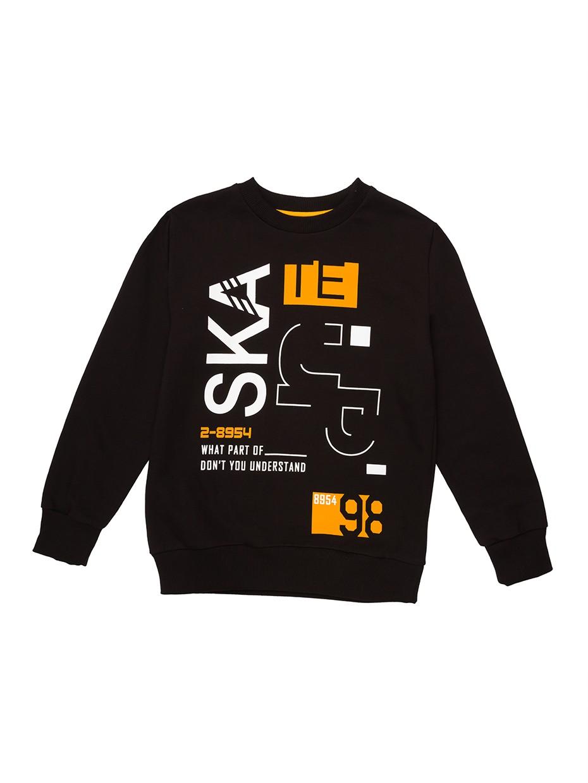 Chlapecká mikina Skate 98 Černá
