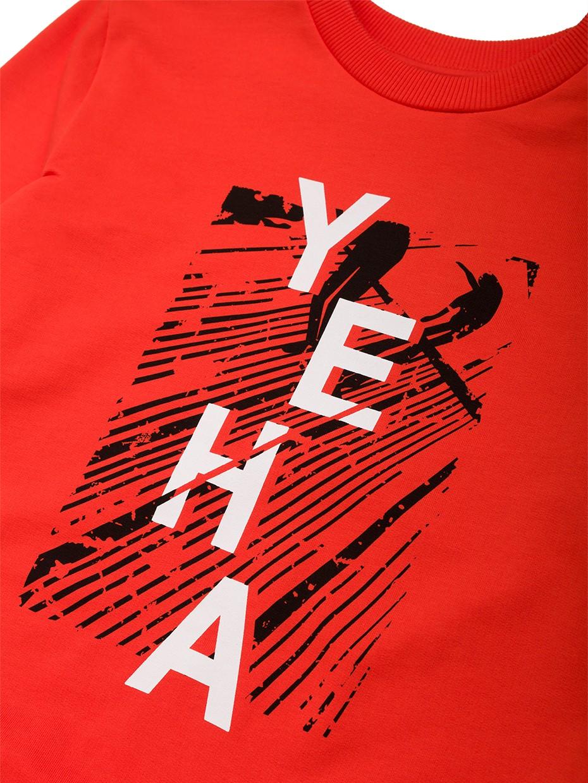 Chlapecká mikina Yeha Červená