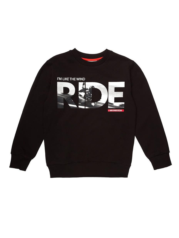 Chlapecká mikina Ride Černá
