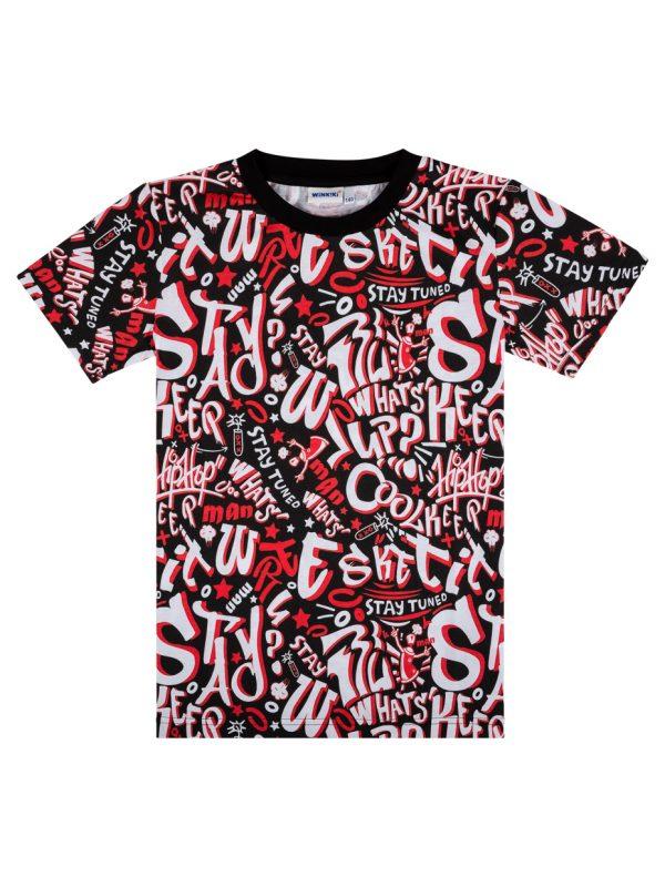 Chlapecké tričko Signs Černá