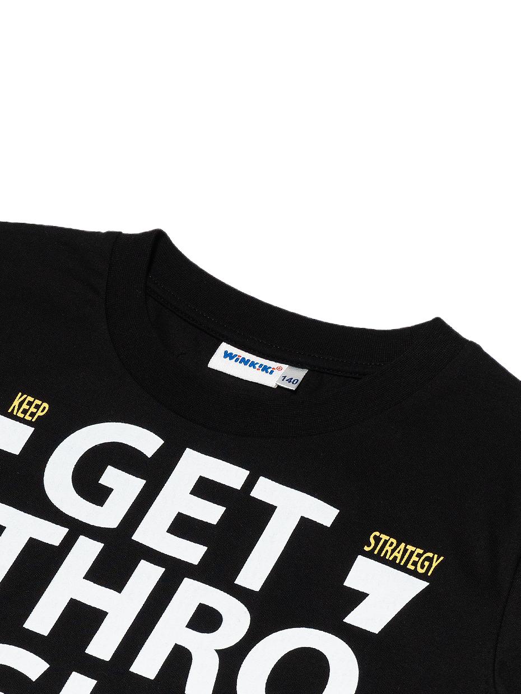 Chlapecké tričko Limits Černá