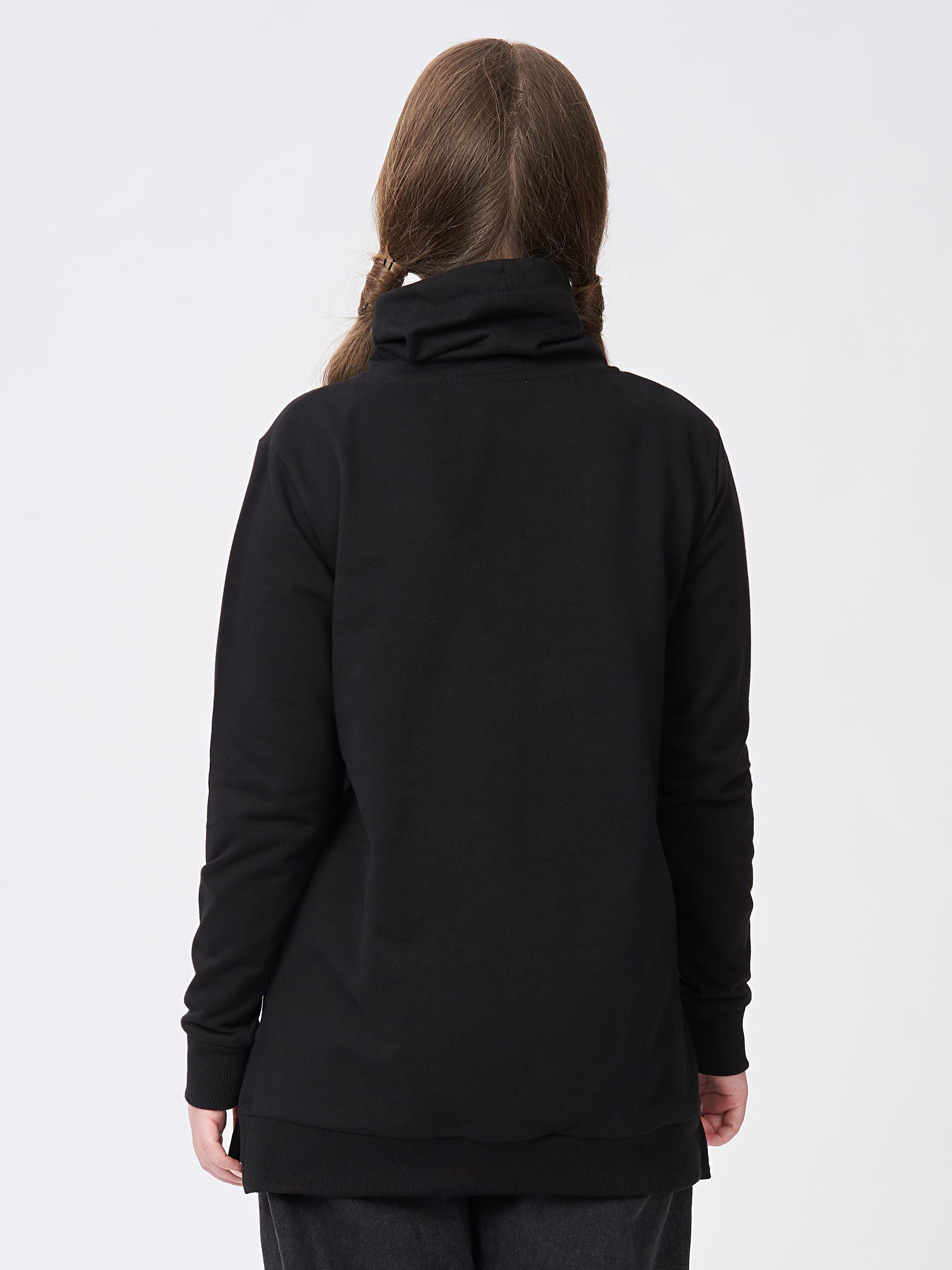 Dívčí mikna - šaty Use it Černá