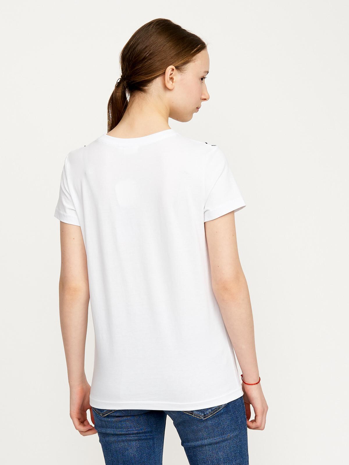 Dívčí tričko Graphics Bílá