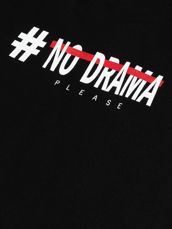 Dívčí šaty No Drama Černá