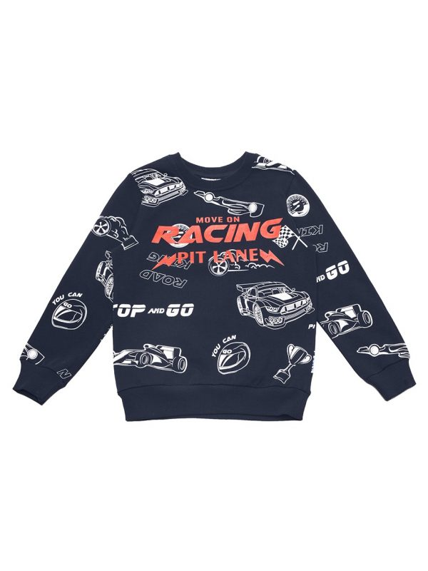 Chlapecká mikina Racing Navy