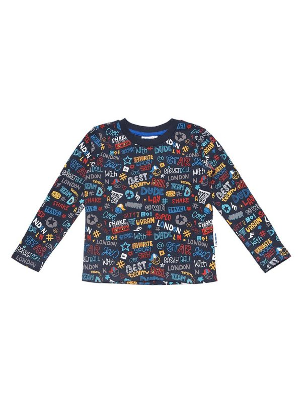 Chlapecké tričko London Navy