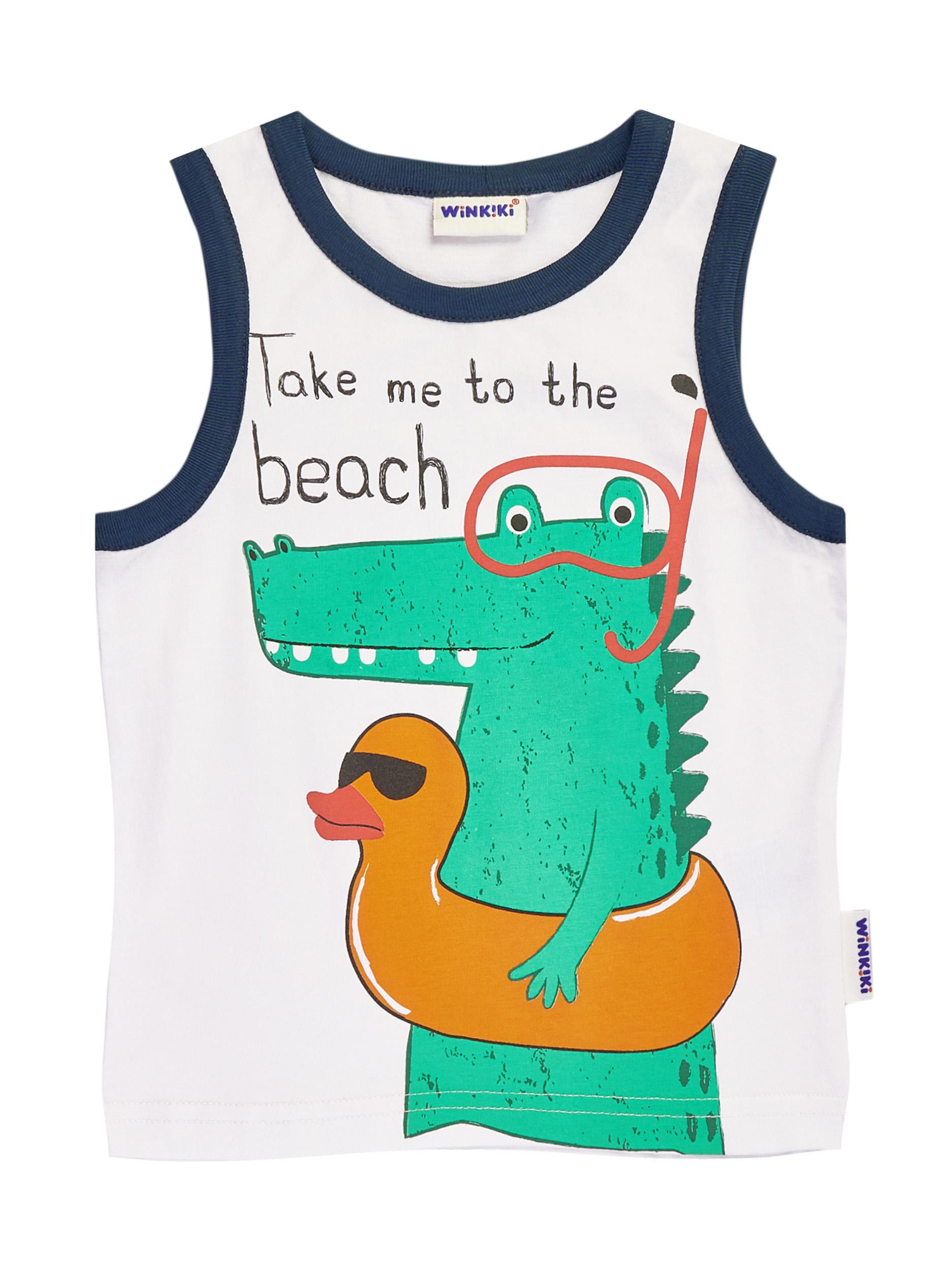 Chlapecké tílko Beach Oranžová