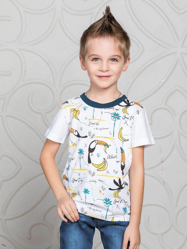 Chlapecké tričko Tukan Oranžová