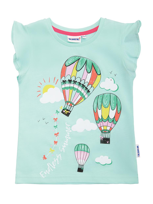 Dívčí tričko Balóny Mátová