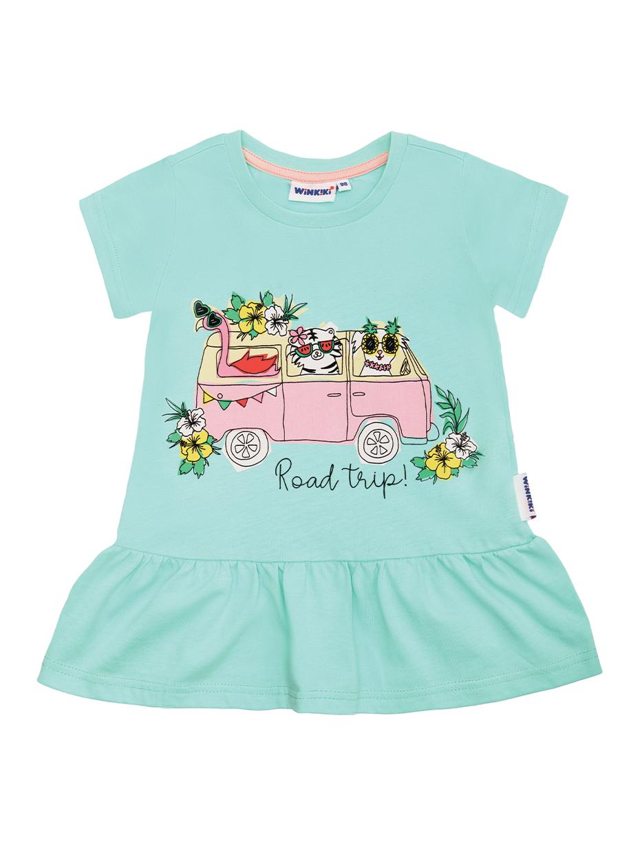 Dívčí šaty Road Trip Mátová
