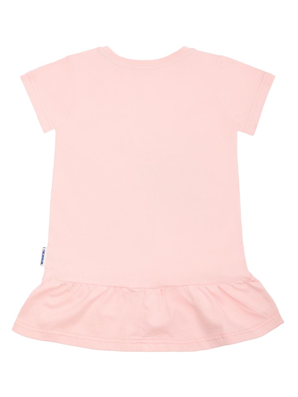 Dívčí šaty Road Trip - růžové Světle-růžová