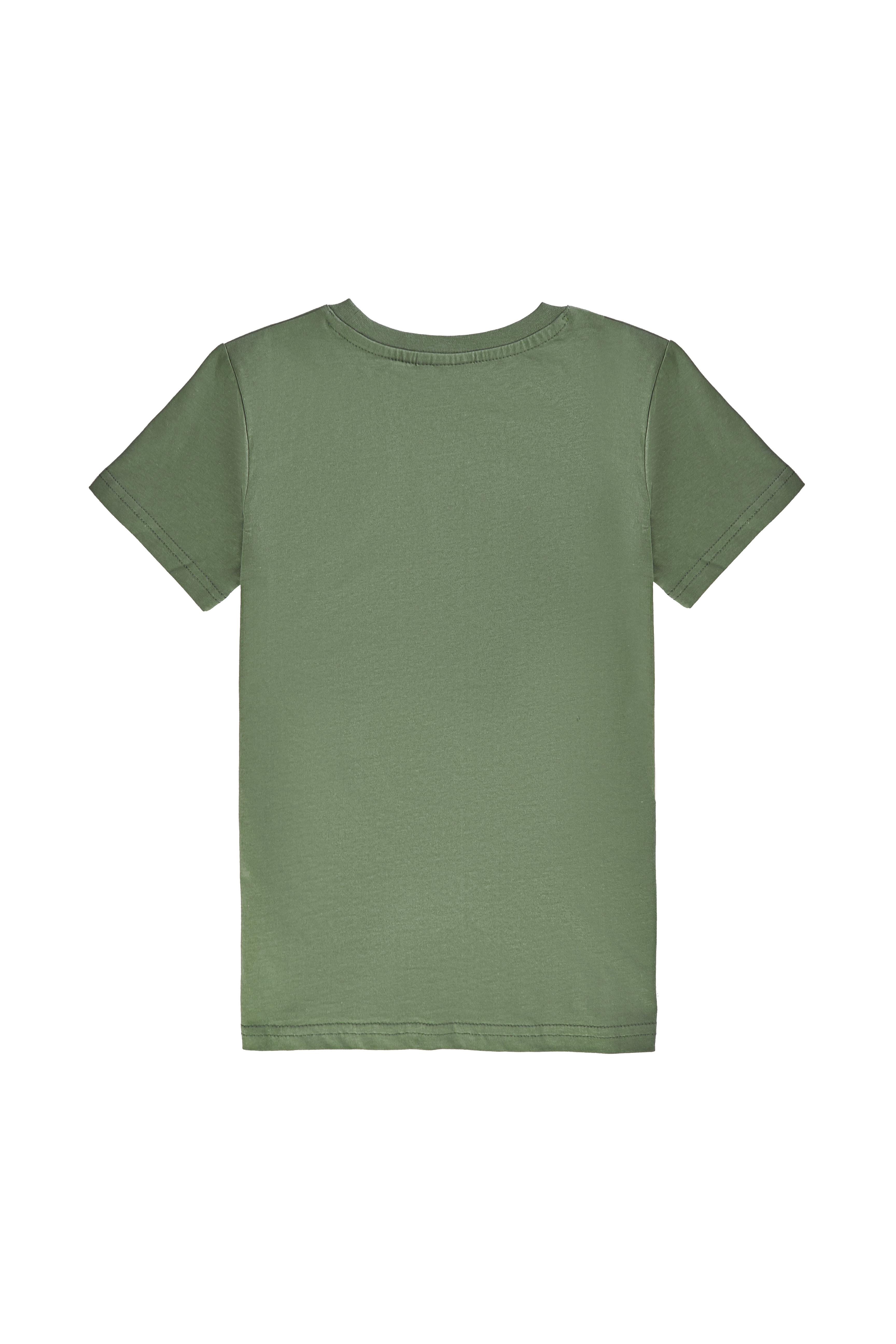 Chlapecké tričko Street Biking - khaki Bílá, Khaki