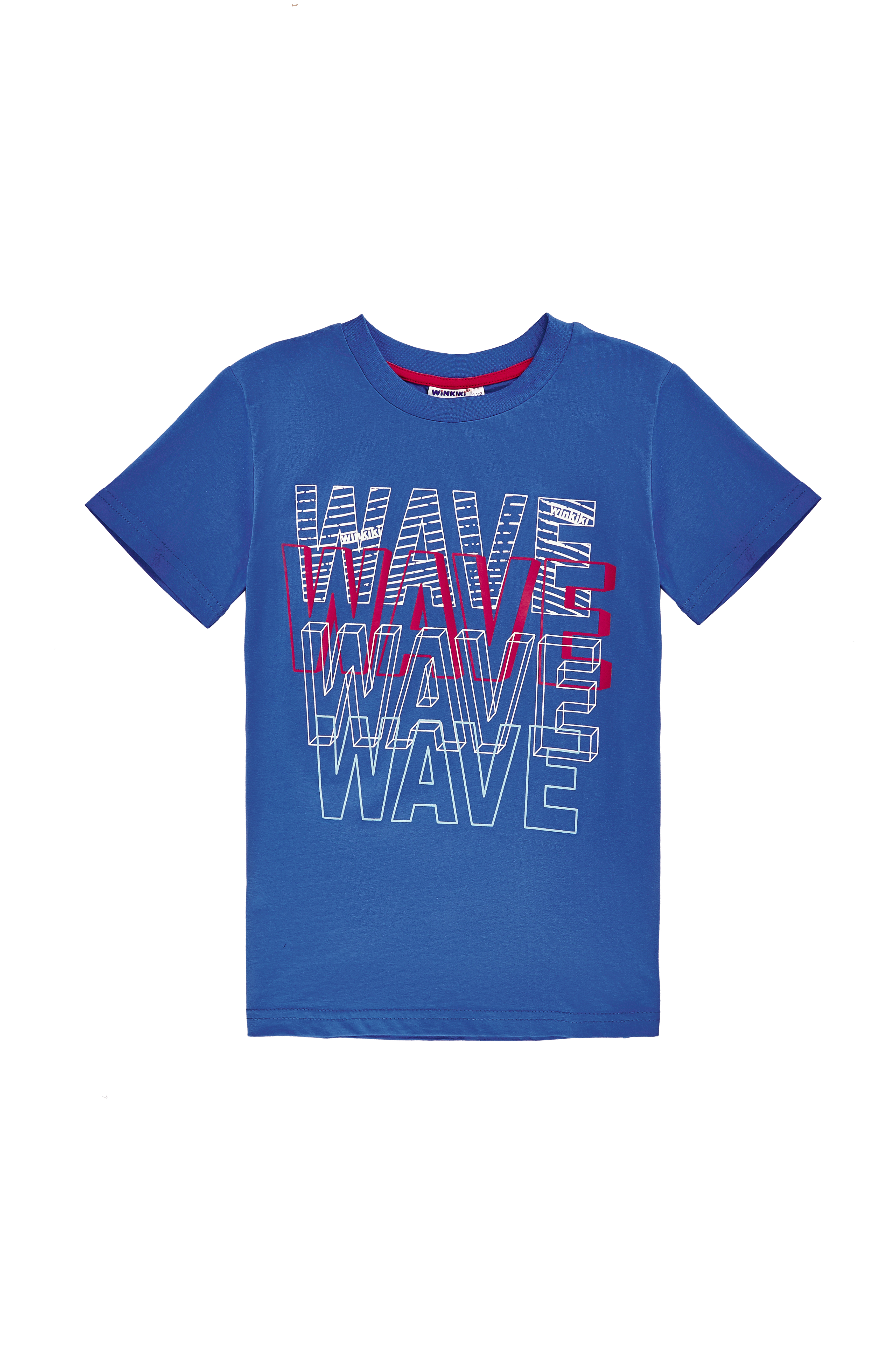 Chlapecké tričko WAVE - tmavě modrá Tmavě modrá, Tyrkysová