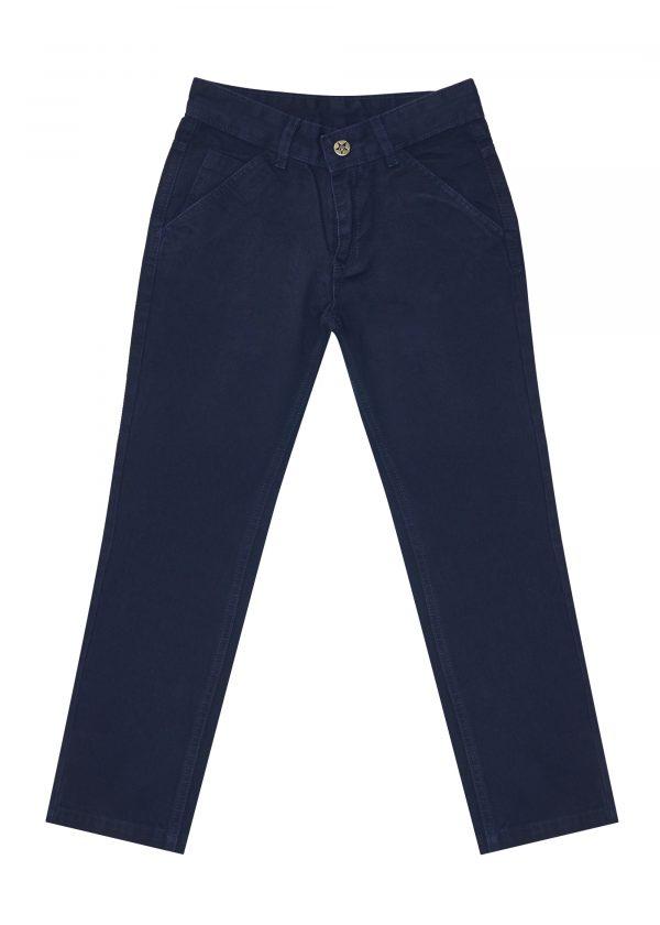 Chlapecké kalhoty West - NAVY Černá, Navy, Šedá