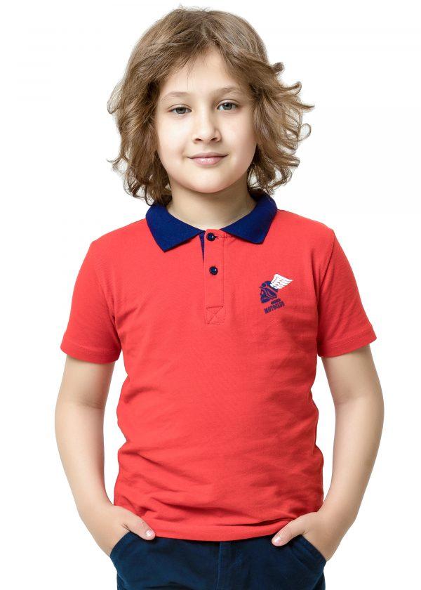 Chlapecké tričko Polo Motoclub - červená Červená, Navy, Tyrkysová