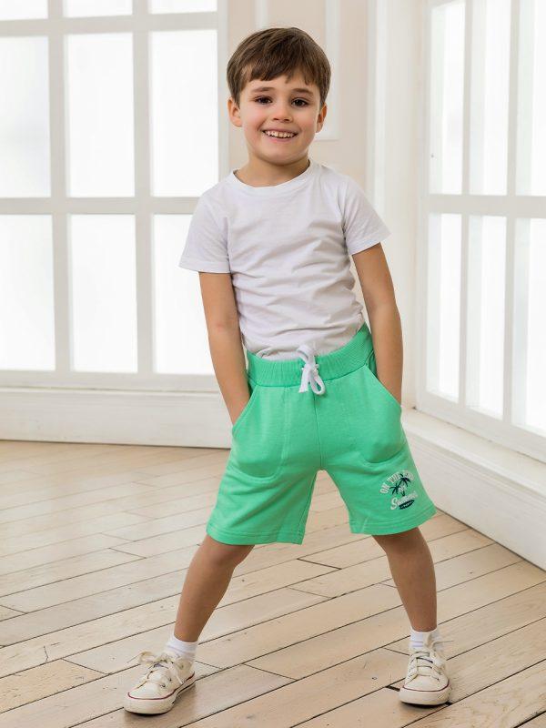 Chlapecké kraťasy Summer - zelená Zelená