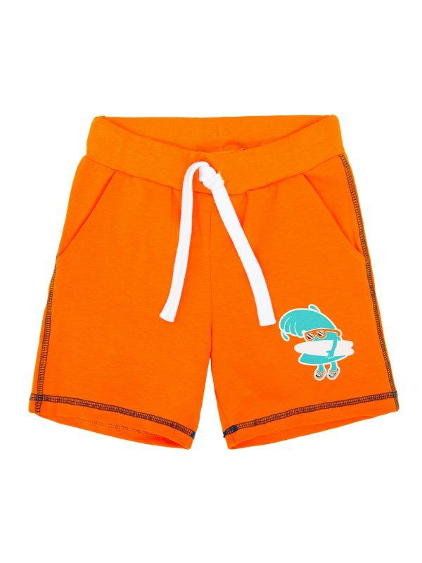 Chlapecké kraťasy Hawaii - oranžová Oranžová