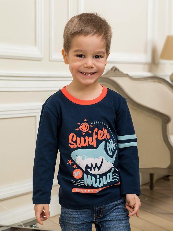 Chlapecké tričko Surfer Navy