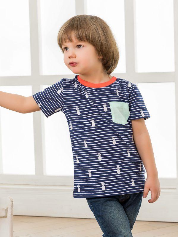 Chlapecké tričko Marine - Navy Navy