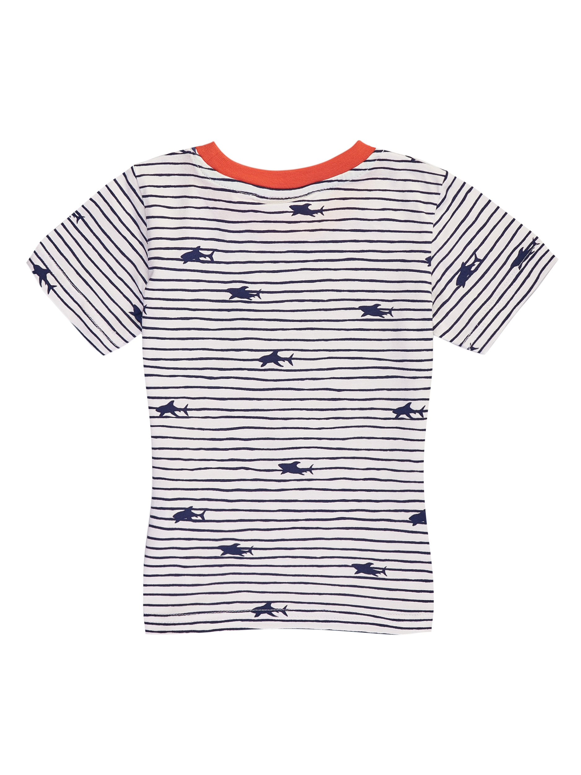 Chlapecké tričko Marine - bílé Bílá