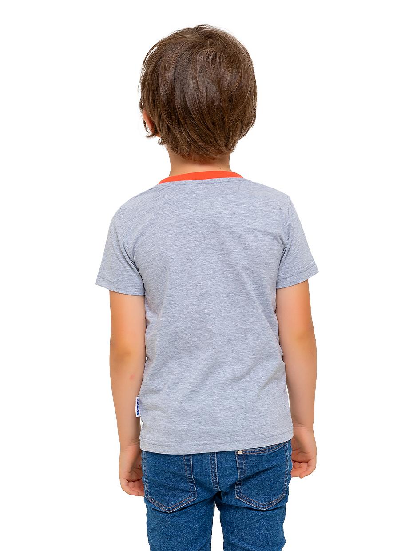 Chlapecké tričko Shark - šedá Šedý melanž
