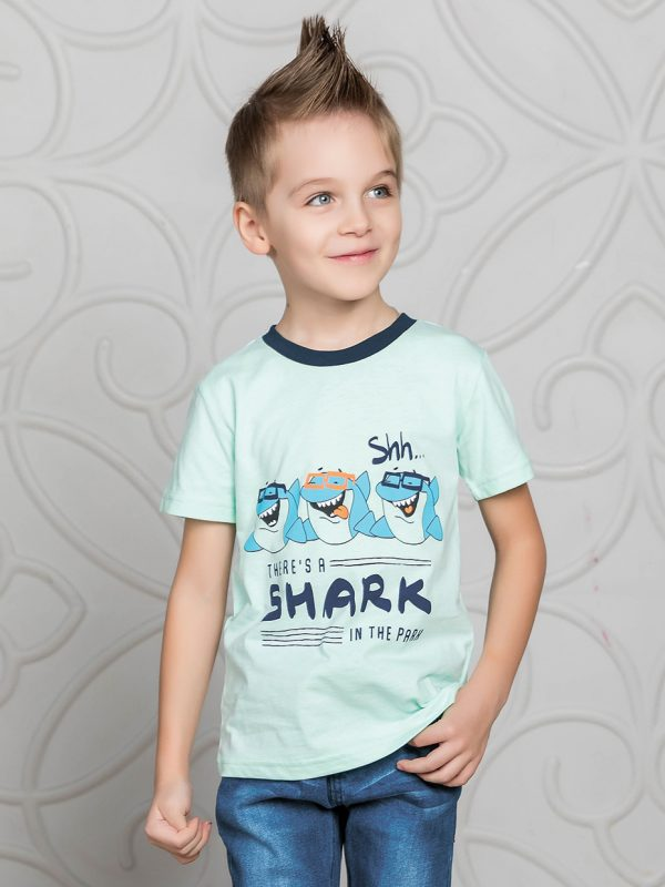 Chlapecké tričko Shark Mátová