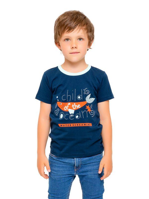 Chlapecké tričko Ocean Navy