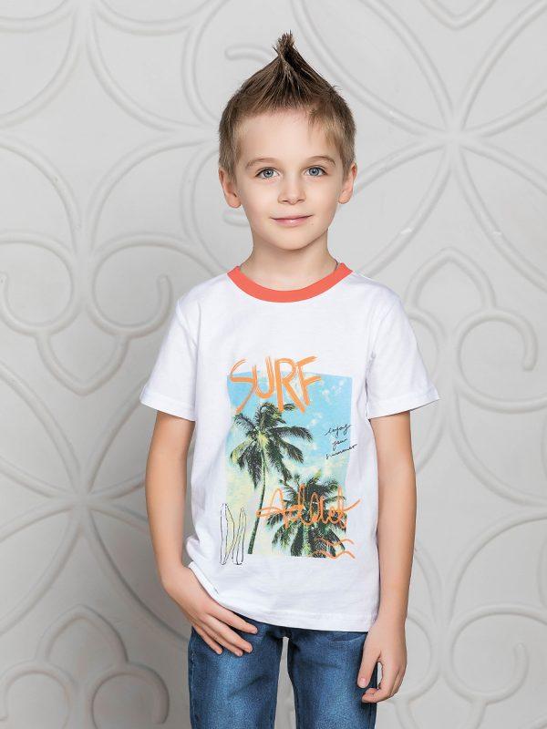 Chlapecké tričko Surf Bílá