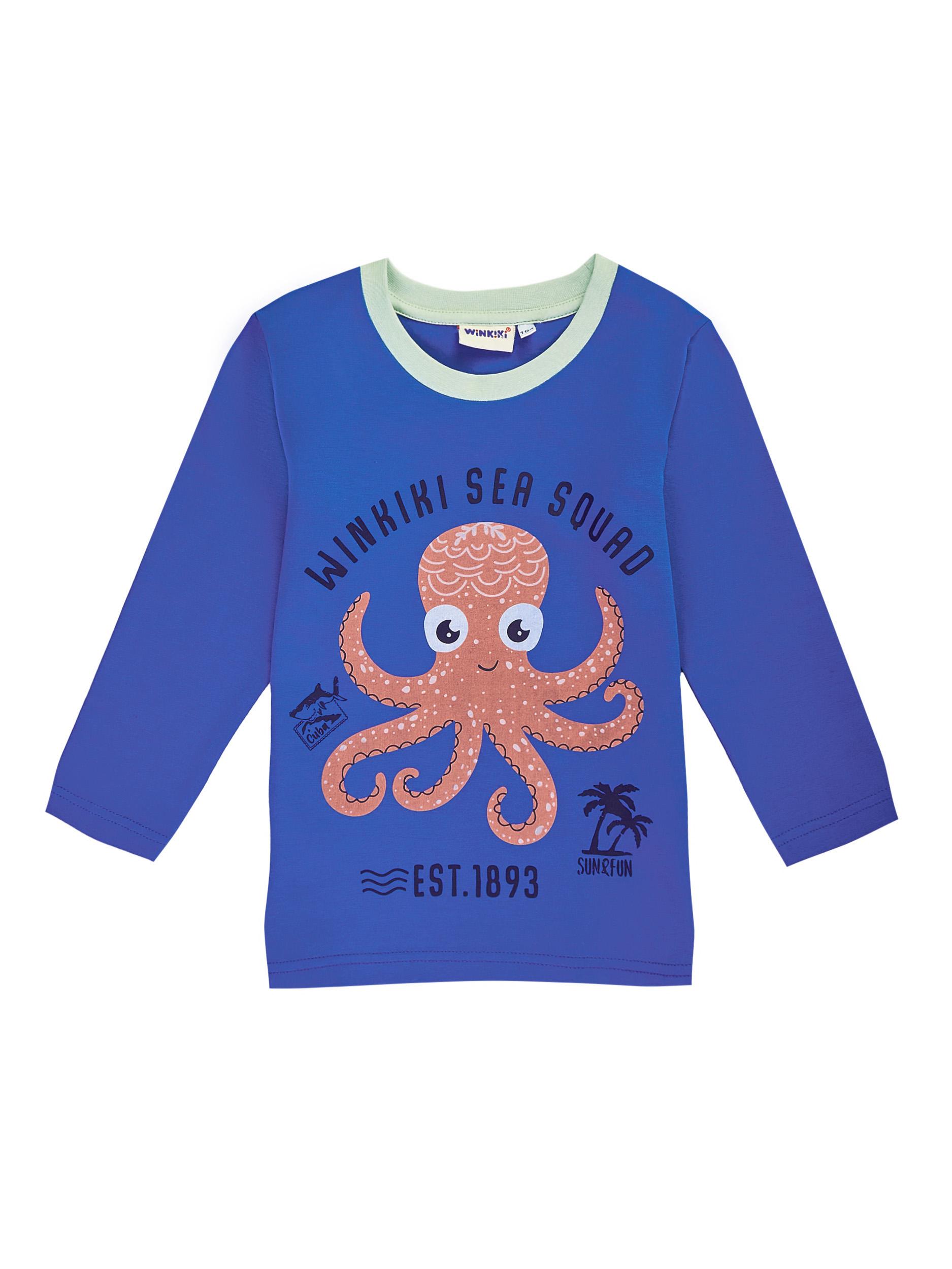 Chlapecké tričko Sea Squad - modrá Modrá