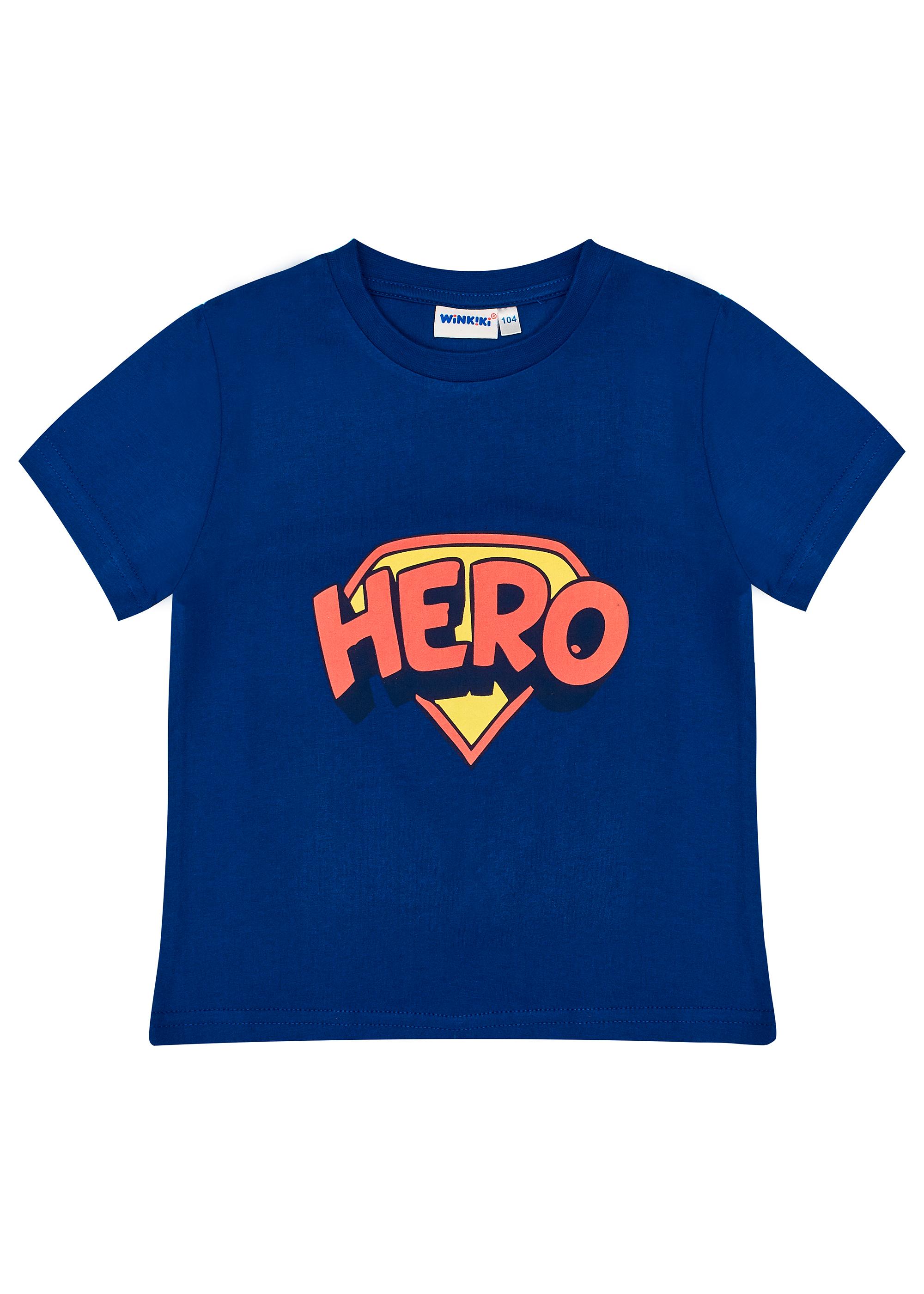 Chlapecké tričko Hero - Navy Navy