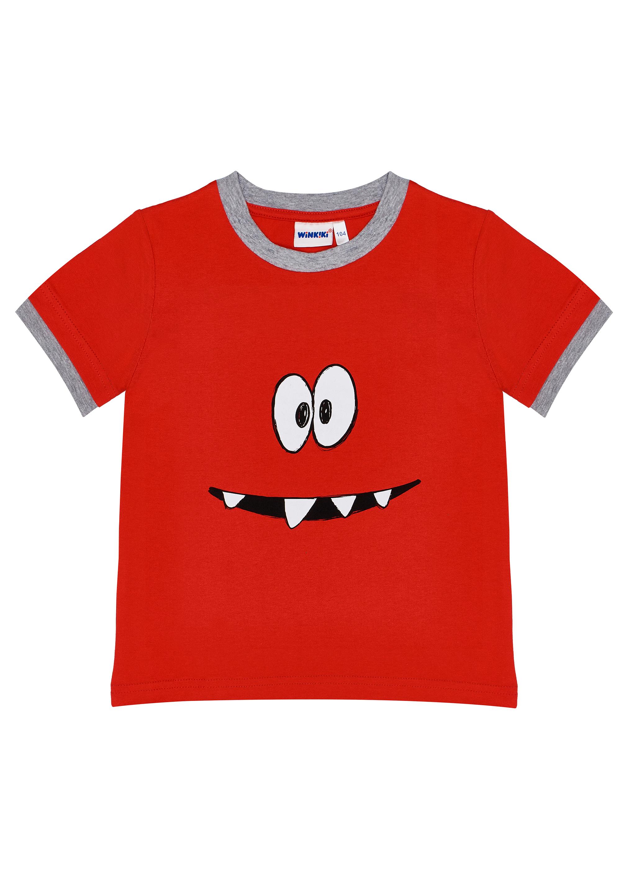 Chlapecké tričko Superpower - šedá Červená, Šedý melanž