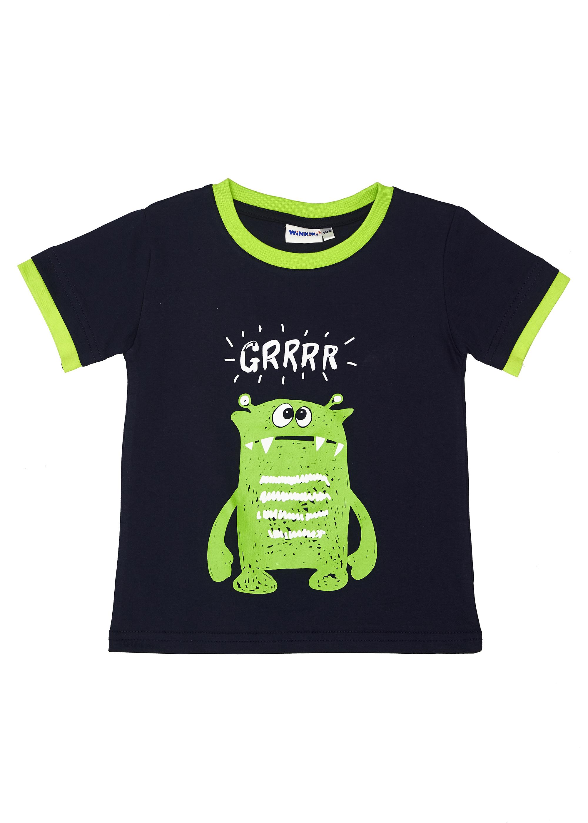 Chlapecké tričko Grrrr Navy