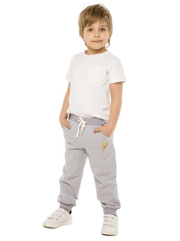Chlapecké tepláky Super Power - šedá Khaki, Navy, Šedý melanž